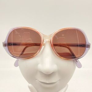 Vintage Libco Translucent Oval Sunglasses Frames